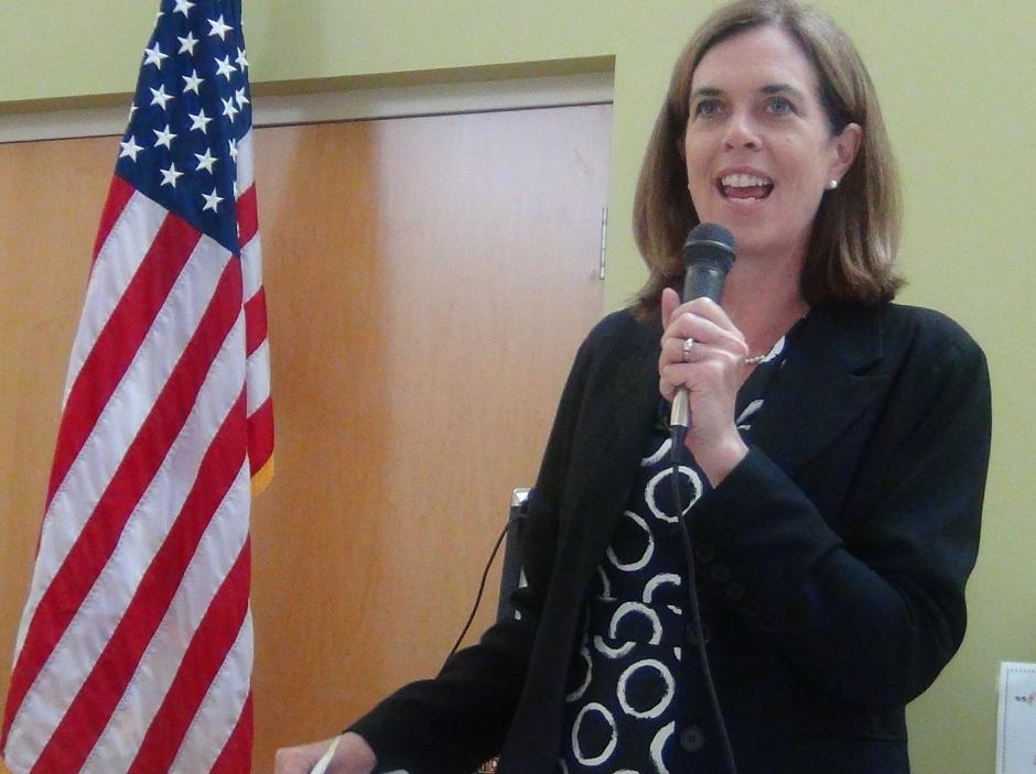 Congresswoman Clark speaks to MSAC
