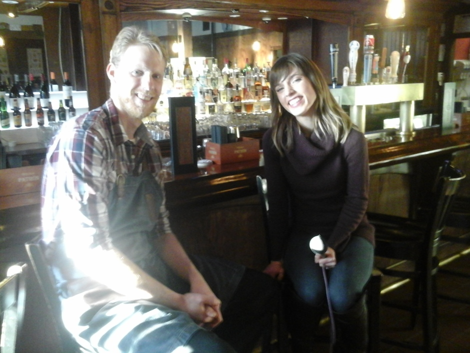 Chef Jason Ladd chats with Neighborhood View's Kylie Garcia.