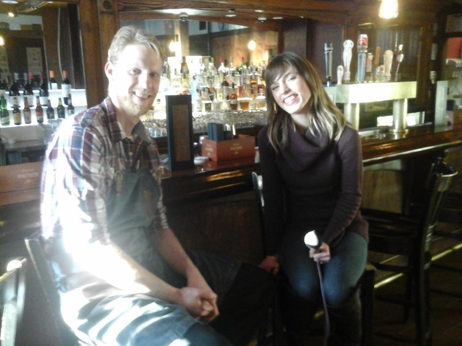 Chef Jason Ladd chats with Neighborhood View's Kylie Garcia.