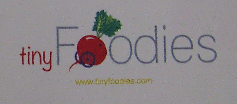 tiny foodies label