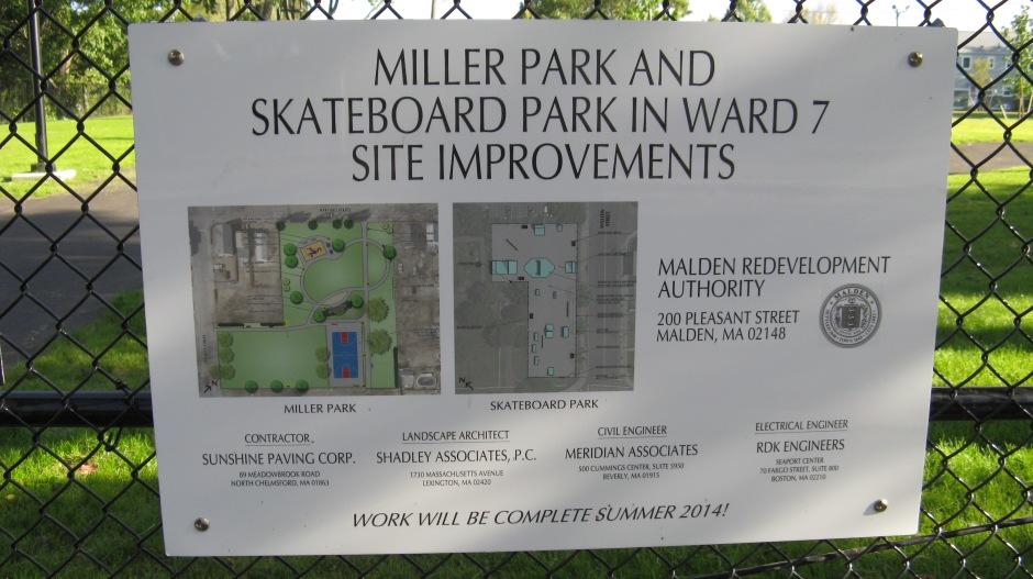 $400,00 in Capital Funds was granted to Miller Park and $100,000 to the skateboard park