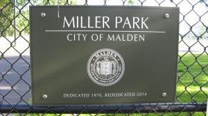 Miller Park Sign