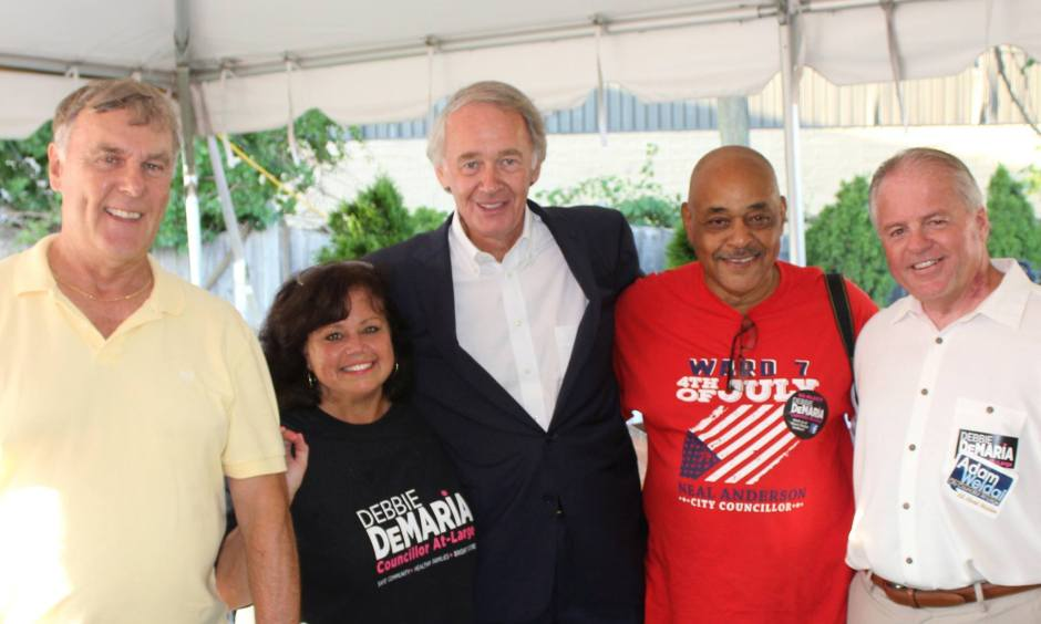 Malden's Democratic Committee's BBQ at Anthony's.