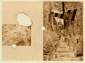 Liz Chalfin From the Ashes Photopolymer intaglio, thread 11