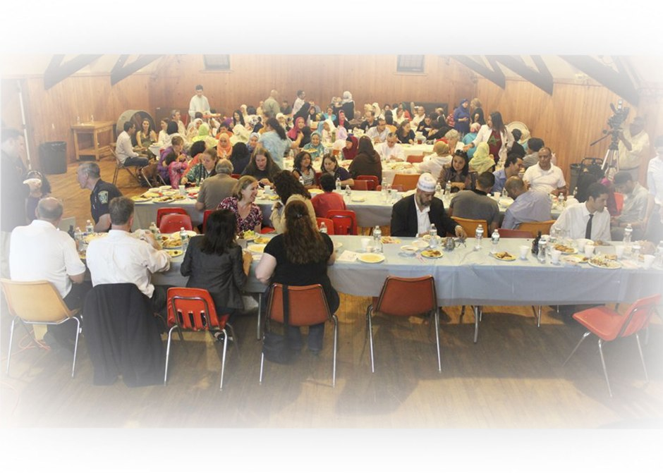Community Ramadan Iftar in Malden 2014