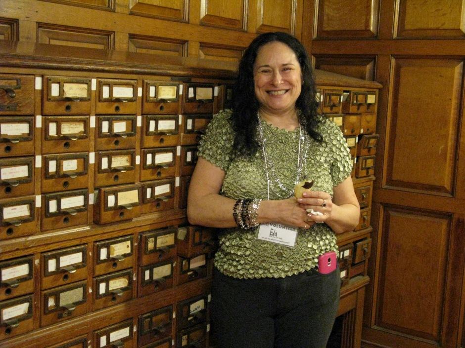 Eda, Library Volunteer