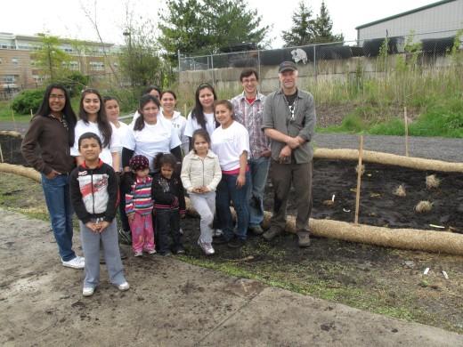 clay Rain Garden Group