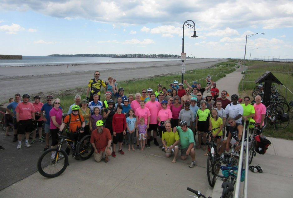 group photo at Nahant