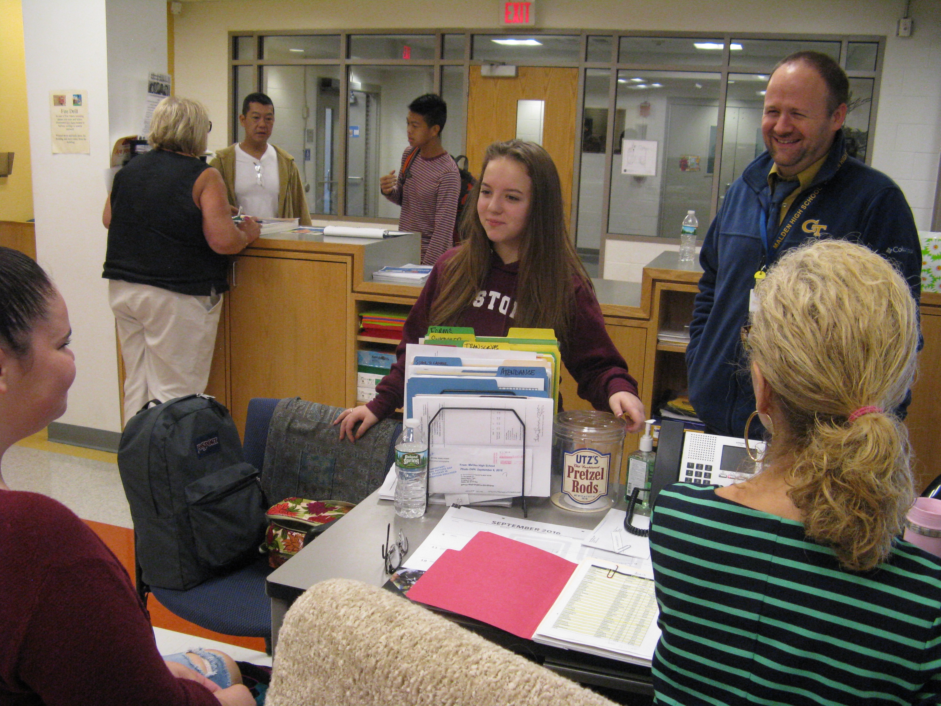 malden high school welcomes principal ted lombardi neighborhood view ted lombardi walked in for the first interview one saturday morning last he was expecting four to five people to be on the panel