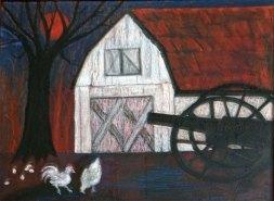"""Joe Sardaro, """"Rolling Promenade."""" Pastels, 29 x 25"""