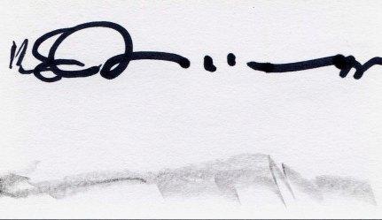 "Joe Burgio, Samuel Goldenberg and Schmuyle."" Ink and graphite, 3 x 5"