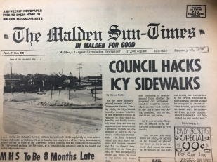 Remember when City Council wanted residents and businesses to shovel the snow off their sidewalks?