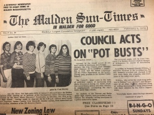 In 1978, six students were caught selling marijuana to undercover police officers.