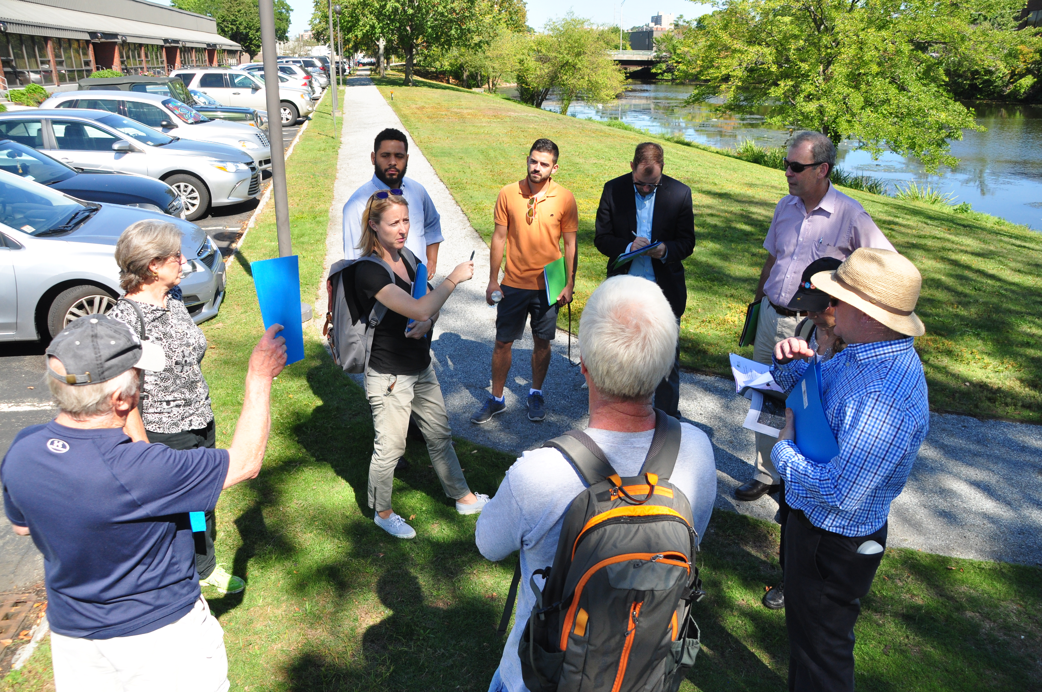 Walk_Talk the Malden with the DEP, Mystic River Watershed Association, Councilor Ryan, and the Friends of Malden River 2016