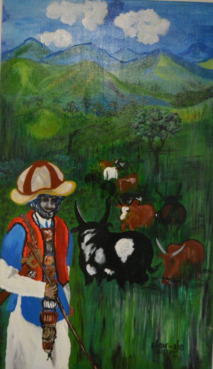 Ganakoh, a Nubian Shepherd