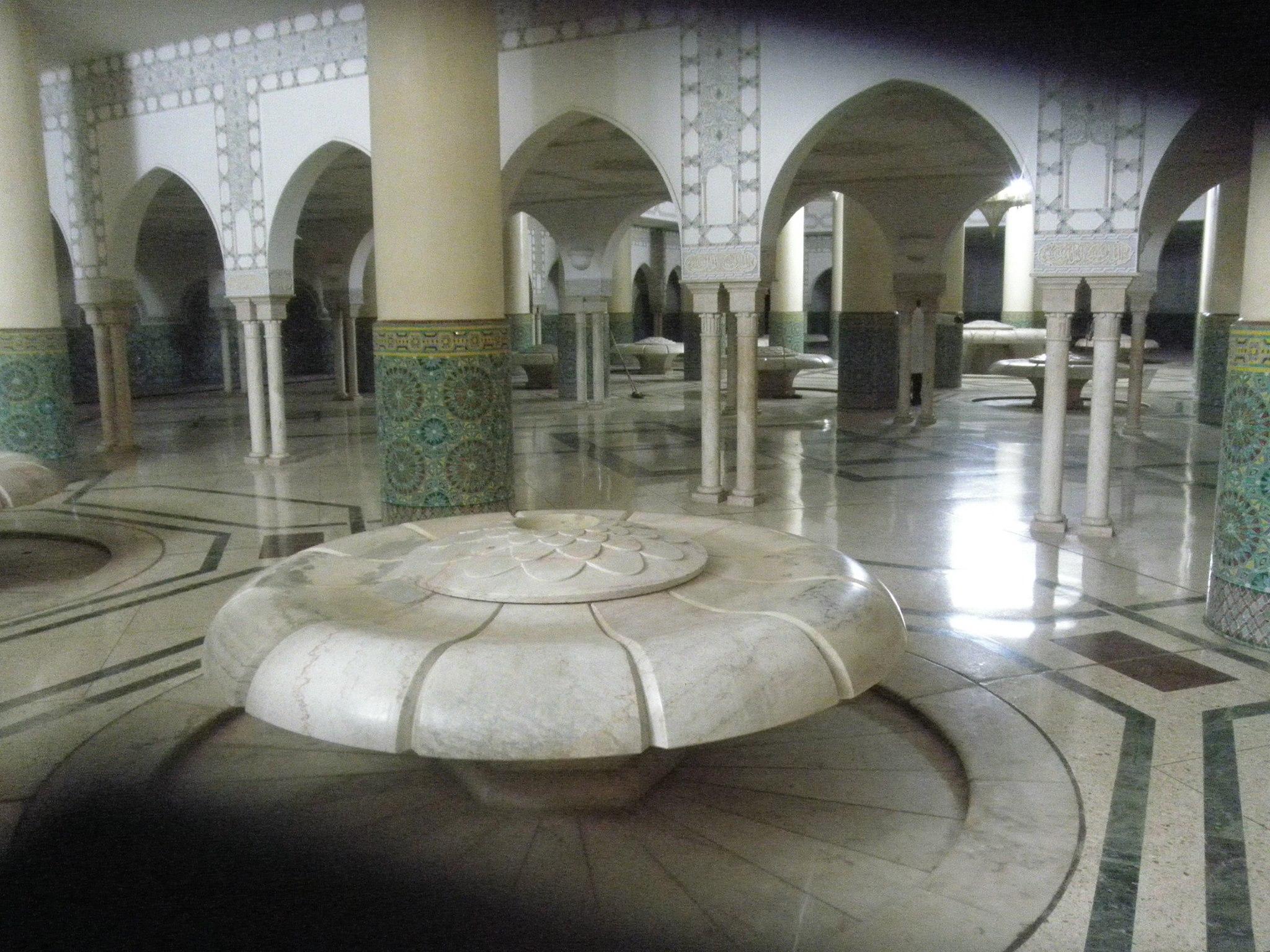 ablution in Casablanca