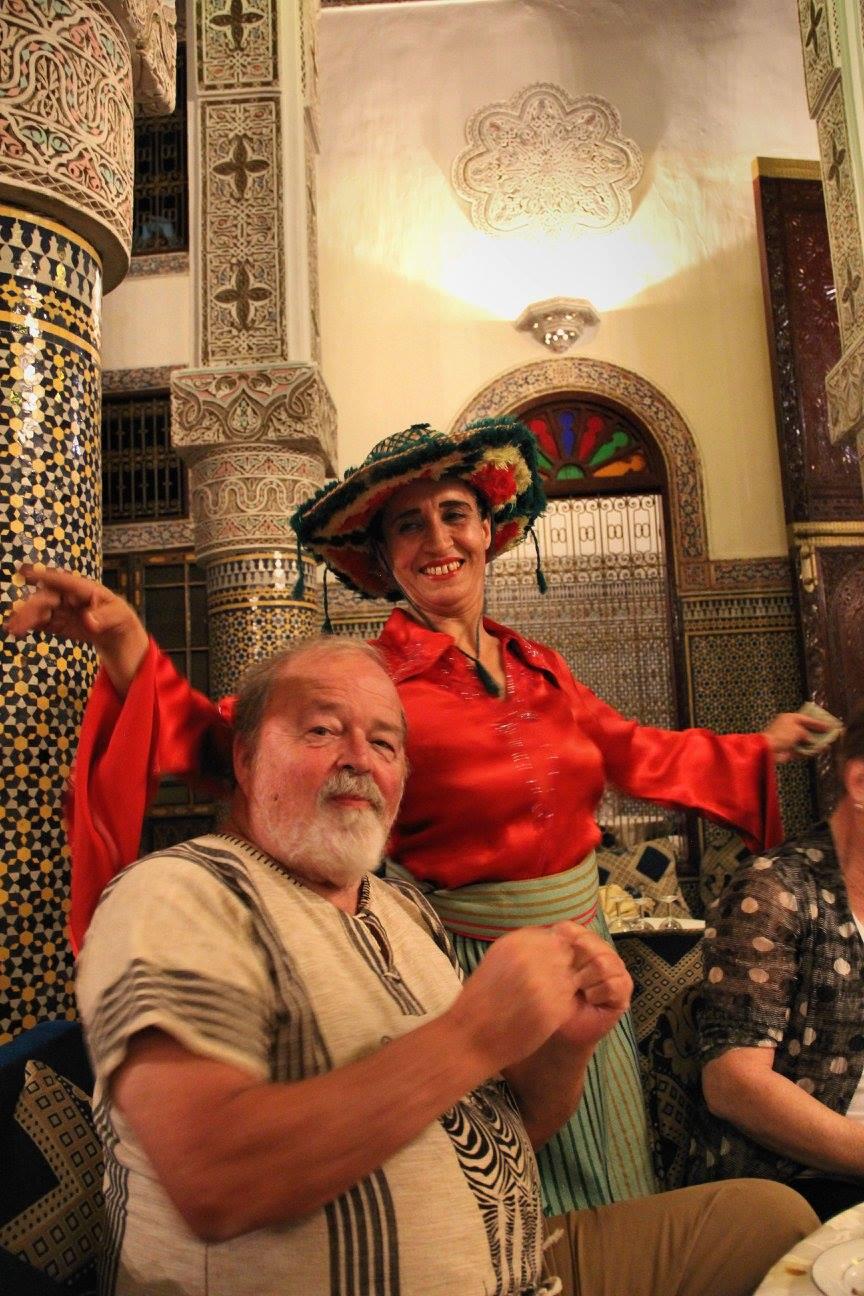 Entertainment at Fez22 restaurant with fellowtraveler