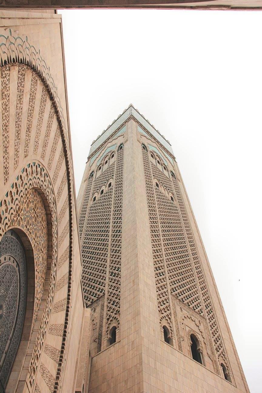 Minaret in Csablanca