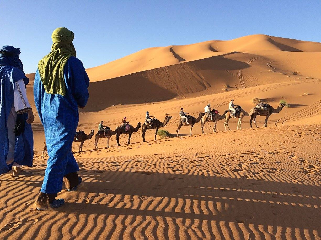 The Road to Morocco from Malden: Into the Sahara