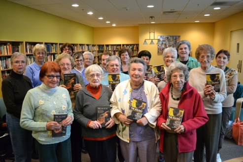 The Senior Center book club has read every Malden Reads selection.