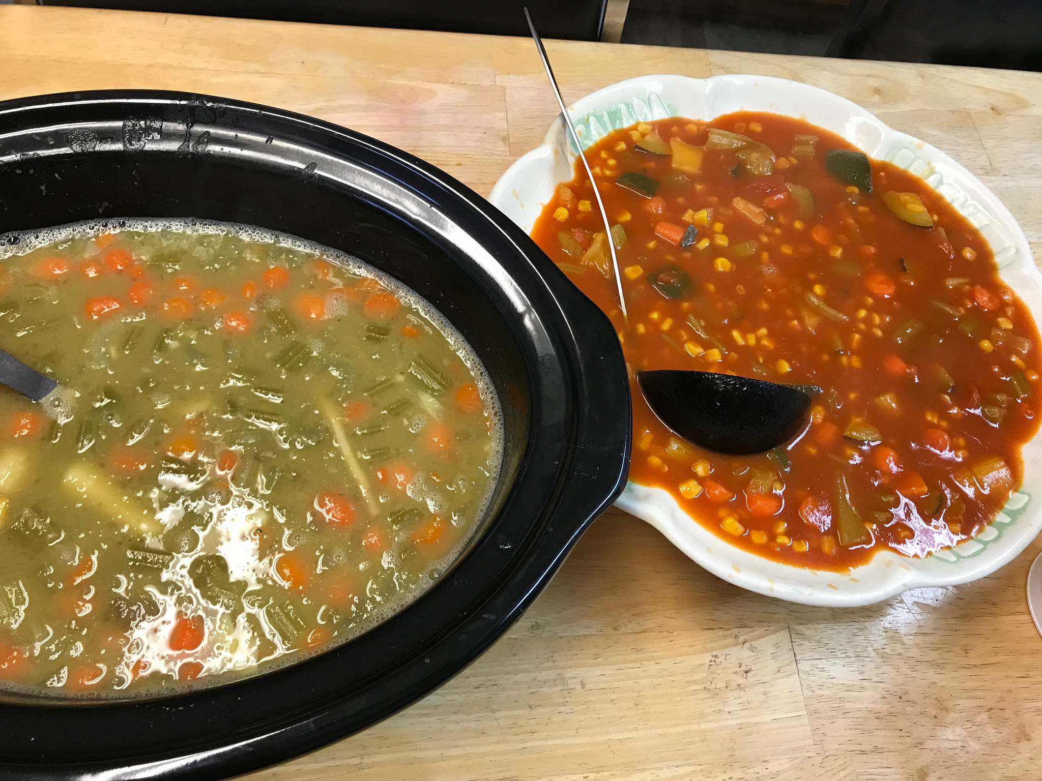 two soups