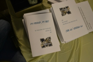 Original stories by members of the Malden High School Writers Den