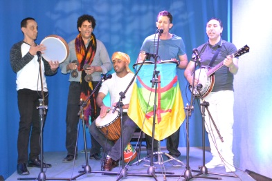 The band, Amoud, plays tradition Amazigh music from Morocco, led by Addi Ouadderrou, a Malden resident. The band is featured here on MATV's annual Open House Showcase, which offers a wide range of artistic and cultural performances in an 8-hour live cable TV show.