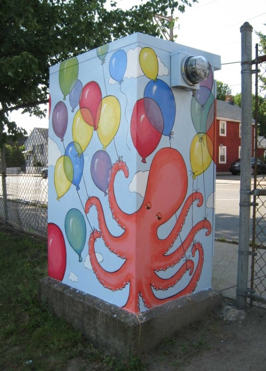 Malden Arts has spearheaded a Switchbox Art project in Malden. Nearly all of the city's switchboxes have been painted by artists.