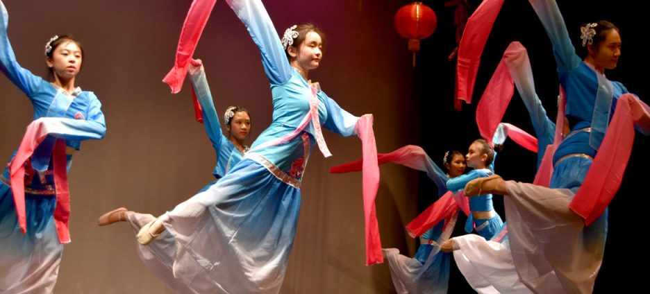The Chinese Culture Connection hosts an annual Chinese Lunar New Year Celebration at Malden High School. (Source: http://gregcookland.com/wonderland/2018/02/11/chinese-new-year/)
