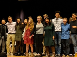 "The cast of MHS Play Production's ""Once Upon This Island"" performs the song ""Why We Tell The Story."""