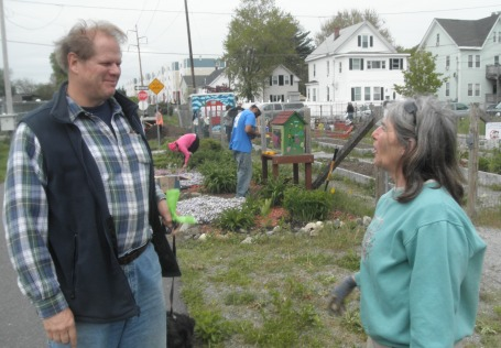 Eric Cunningham and Karen Buck. Photo by Bonnie Blanchard