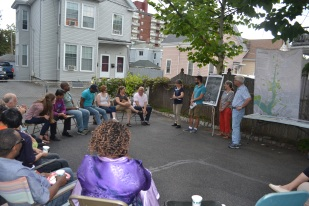 Residents learn more about the Malden River.