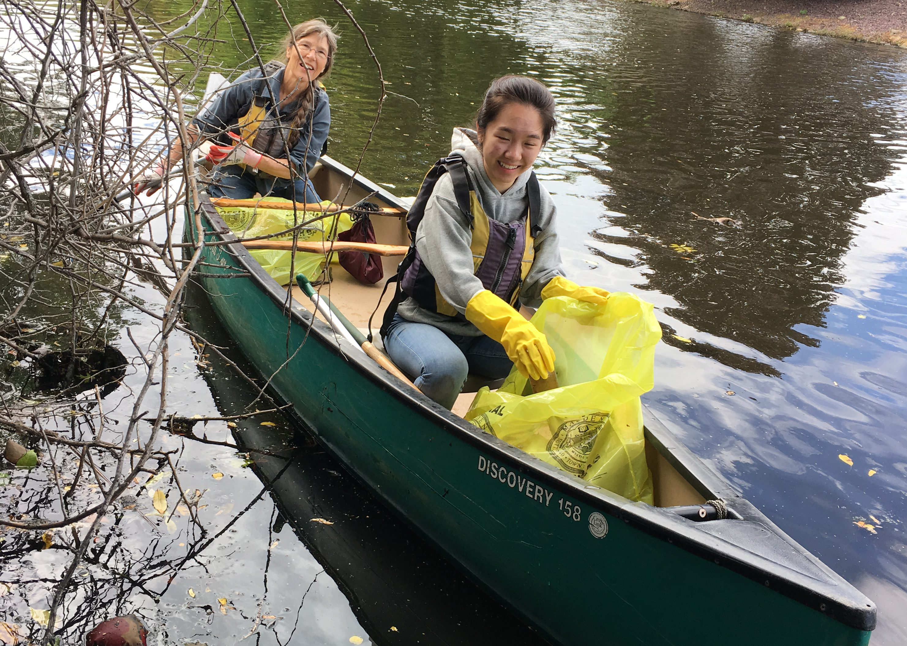 Cruising and Cleaning the Malden River