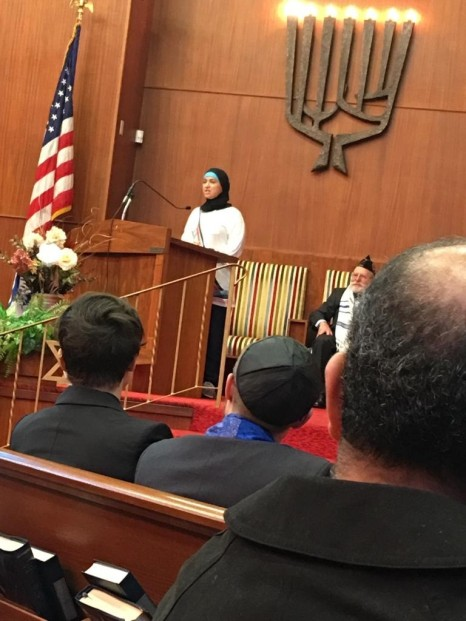 Nichole Mossalam, Malden Islamic Center
