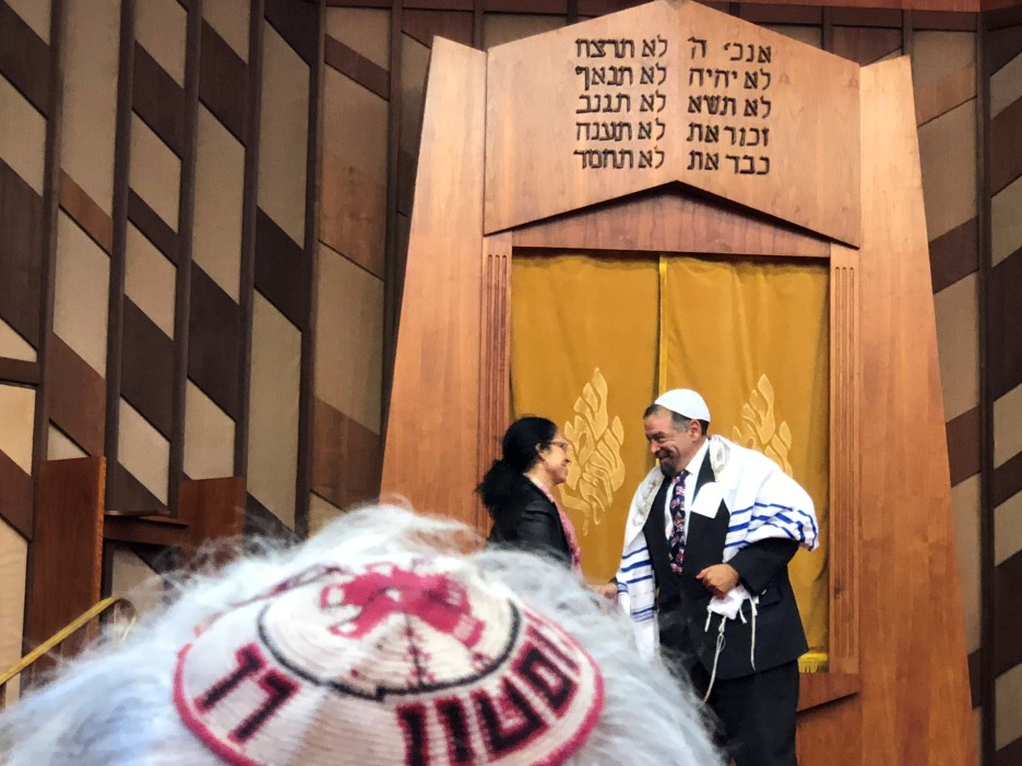 Wayne Freedman, the sexton of Congregation Agudas Achim-Ezrath Israel.