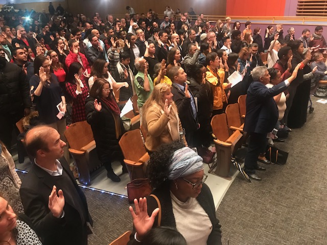Malden hosts 8th Annual New Citizens Ceremony