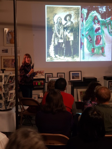 "Cynthia Becker presents ""Do you know what it means to miss New Orleans"" at PechaKucha Night."