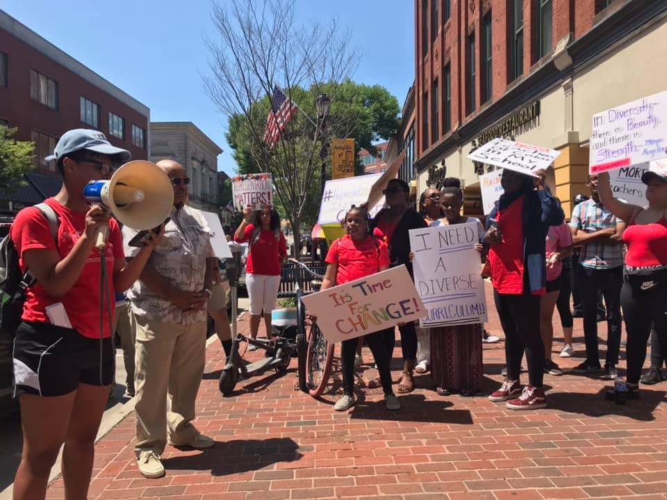 Rally calls for racial equity in Malden schools