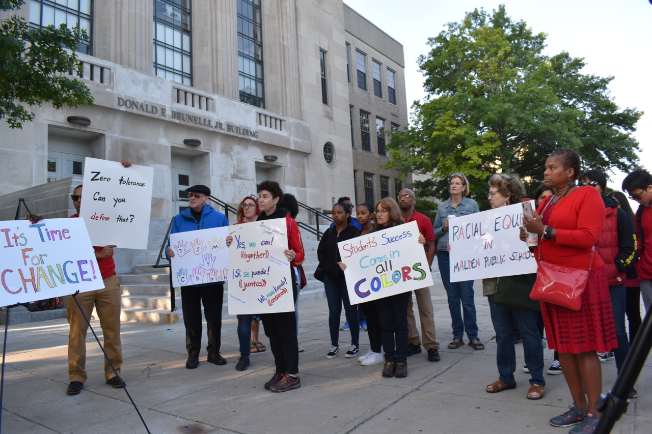 Second rally calls for more racial equity in Malden public schools